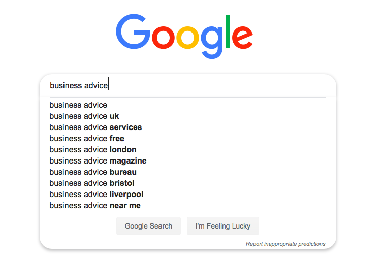 Using Google for content ideas1
